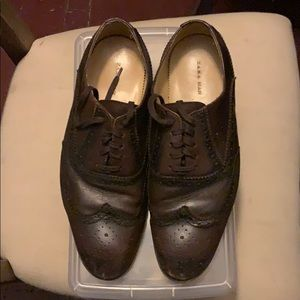 Zara wingtip shoes